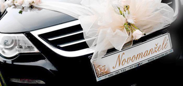 Svatebni Dekorace Na Auto Dekorace Na Auta