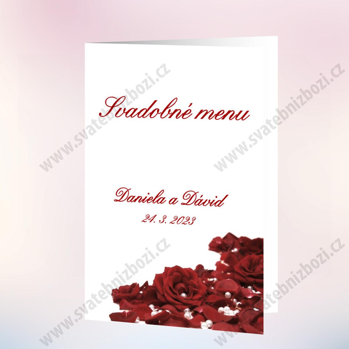 8c50185025b9 Svadobné menu RŮŽE