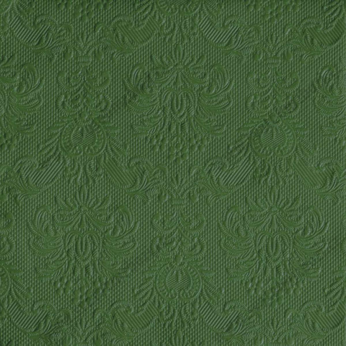 Svatebni Ubrousky Elegance 33 X 33 Cm Tmave Zelena 15 Ks Bal