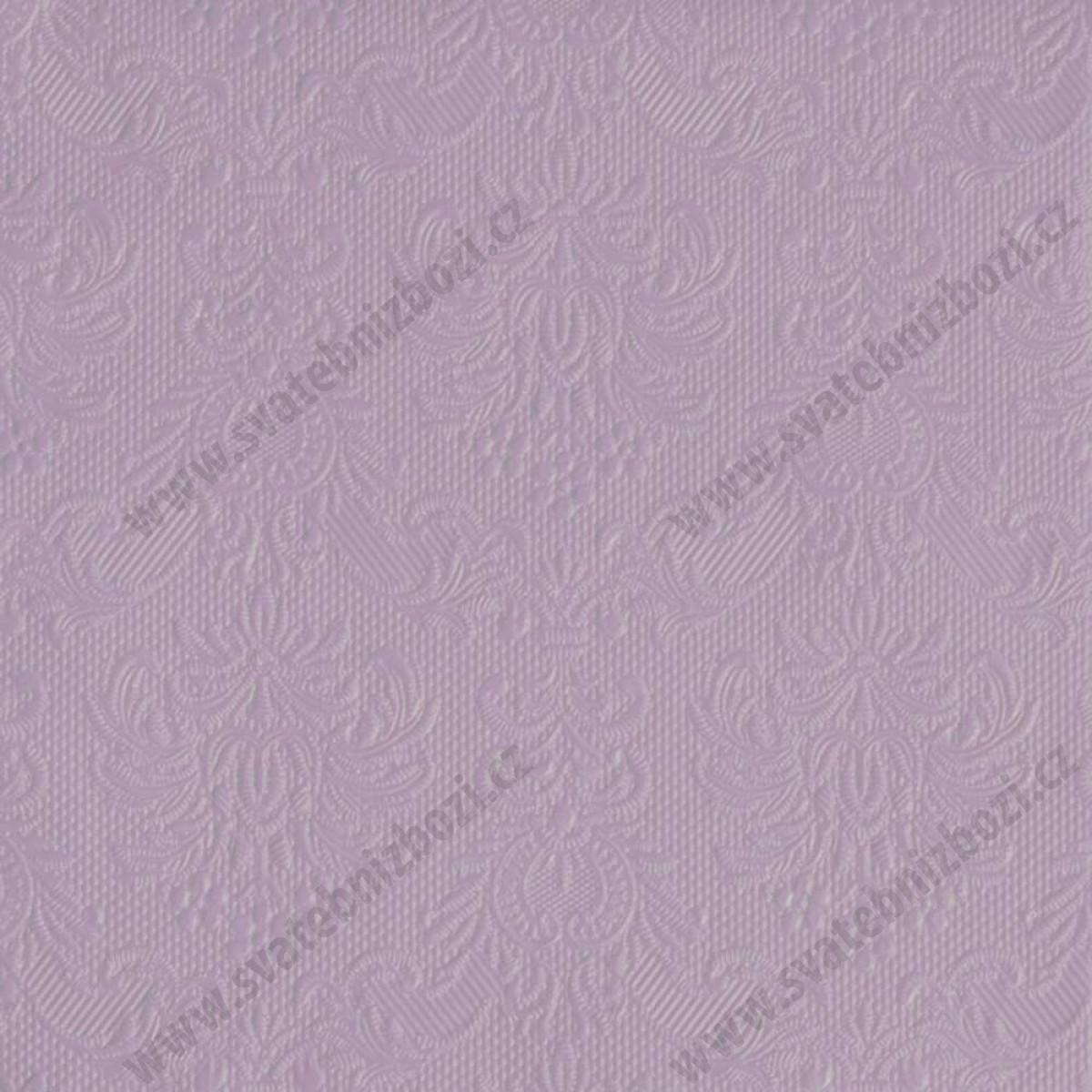 Svatebni Ubrousky Elegance 33 X 33 Cm Lila 15 Ks Bal Svatebni