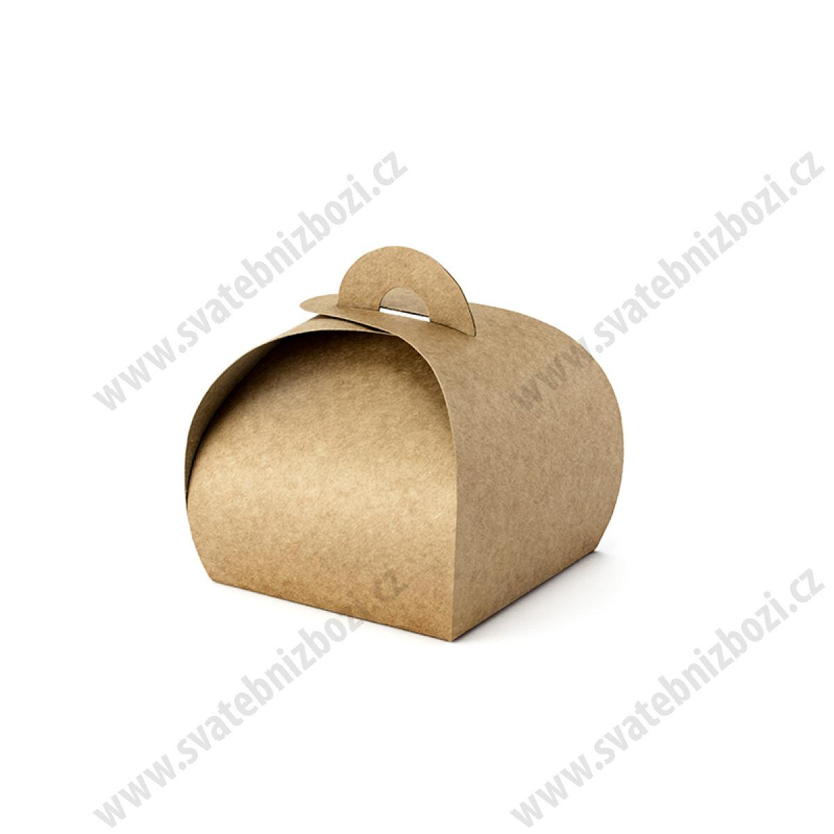 93663e73df Kraftová dárková krabička ( 10 ks   bal ) - Krabičky na dárky - Svatebni  doplňky