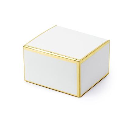 d3a5a600ac Svatební krabičky - Loket - bílá (10 ks bal)